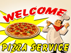 Welcome Pizza Service Logo